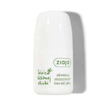 Ziaja Liście Zielonej Oliwki oliwkowy dezodorant bez soli i glinu każdy rodzaj skóry 60ml