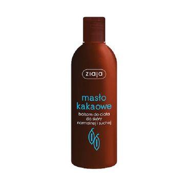 Ziaja Masło Kakaowe balsam do ciała skóra normalna i sucha 300ml
