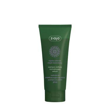 Ziaja szampon ziołowy normalizujący sebum (200 ml)