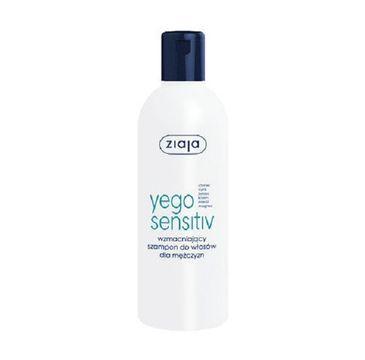 Ziaja Yego Sensitiv wzmacniający szampon do włosów dla mężczyzn 300ml