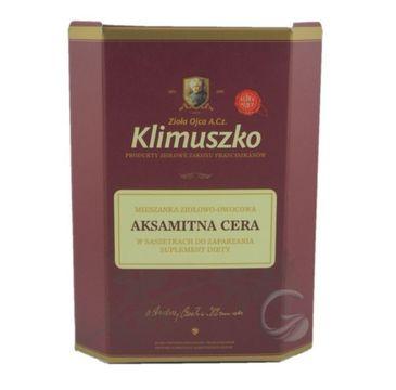 Zioła Ojca Klimuszko Aksamitna Cera mieszanka ziołowo-owocowa suplement diety 20 saszetek
