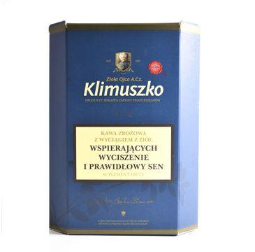 Zioła Ojca Klimuszko Kawa Zbożowa z wyciągiem z ziół wspierająca wyciszenie i prawidłowy sen 200g