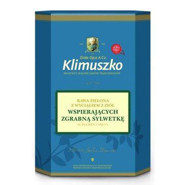 Zioła Ojca Klimuszko Kawa Zielona z wyciągiem z ziół wspierających zgrabną sylwetkę suplement diety 200g