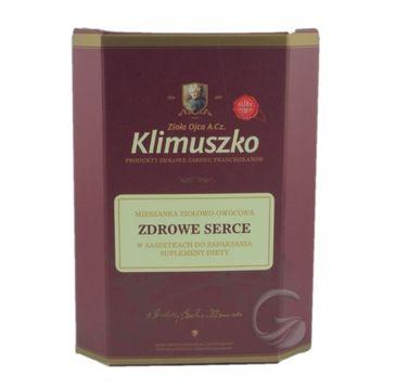 Zioła Ojca Klimuszko Zdrowe Serce mieszanka ziołowo-owocowa suplement diety 20 saszetek