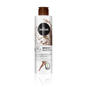 Ziolove – Hyzop regenerujący szampon ziołowy (250 ml)