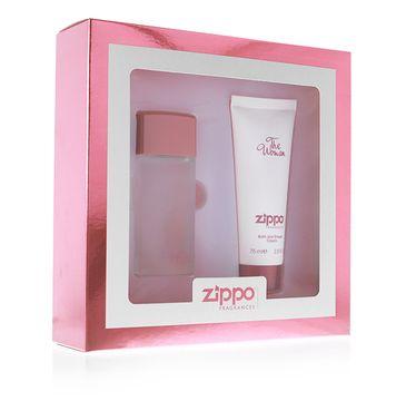 Zippo The Woman zestaw woda perfumowana spray 30ml + żel pod prysznic 75ml