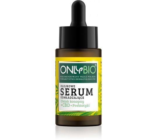 OnlyBio – Olejek konopny + CBD + Prebiotyki olejkowe serum odmładzające (30 ml)