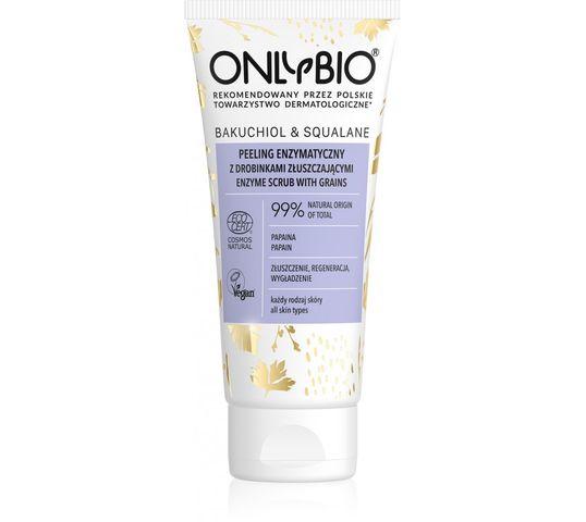 OnlyBio Bakuchiol & Squalane (peeling enzymatyczny do twarzy z drobinkami złuszczającymi 75ml)