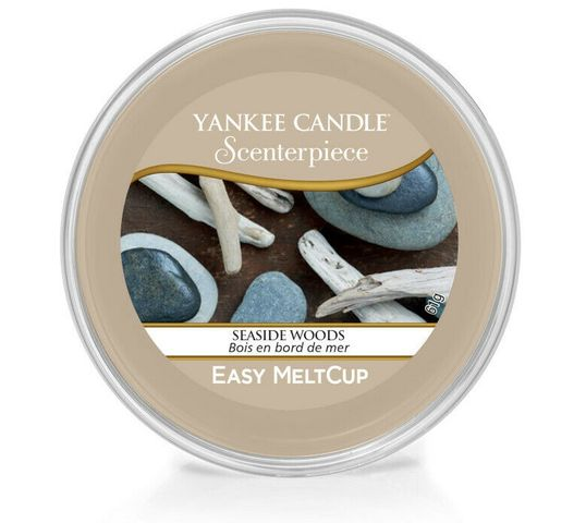 Yankee Candle – Scenterpiece Easy Melt Cup wosk do elektrycznego kominka Seaside Woods (61 g)