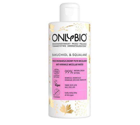 OnlyBio – Bakuchiol & Squalane przeciwzmarszczkowy płyn micelarny (300 ml)