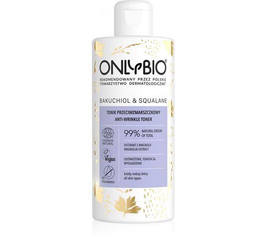 OnlyBio –  Bakuchiol & Squalane tonik przeciwzmarszczkowy do twarzy (300 ml)