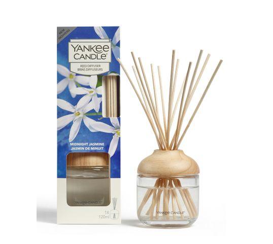 Yankee Candle Reed Diffuser pałeczki zapachowe z dyfuzorem Midnight Jasmine 120ml