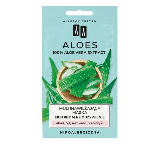 AA Aloes Multinawilżająca maska ekstremalne odżywienie (2 x 4 ml)