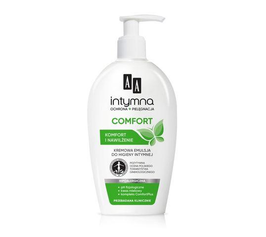 AA Comfort Intymna Kremowa emulsja do higieny intymnej  300 ml