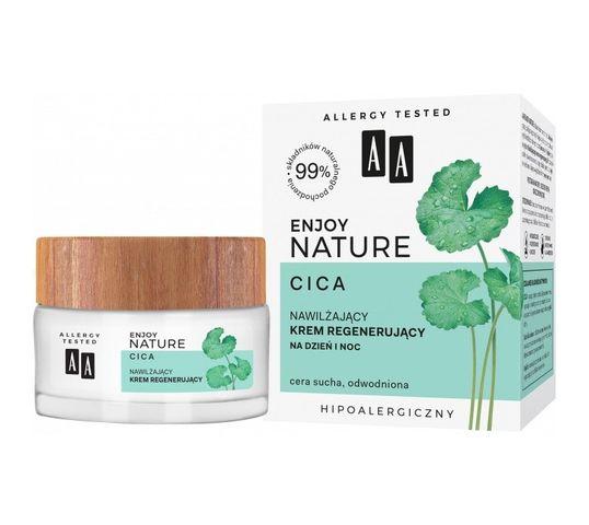AA Enjoy Nature nawilżający krem regenerujący na dzień i noc (50 ml)