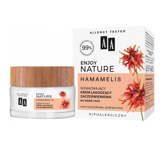 AA Enjoy Nature wzmacniający krem łagodzący zaczerwienienia na dzień i noc (50 ml)