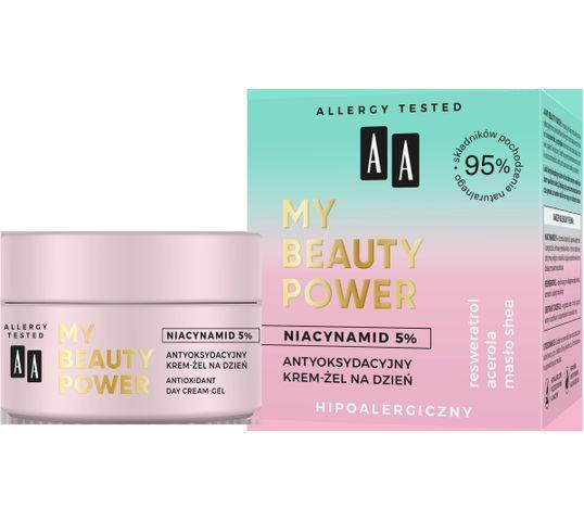 AA My Beauty Power Niacynamid 5% Antyoksydacyjny krem-żel na dzień (50 ml)