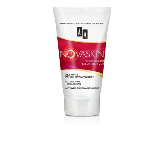 AA Novaskin Aktywny żel do mycia twarzy 150 ml