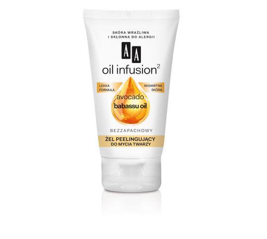AA Oil Infusion2 Żel peelingujący do mycia twarzy 150 ml