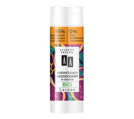 AA Super Fruits & Deo Stick odświeżający dezodorant w sztyfcie Gio Garden (25 g)