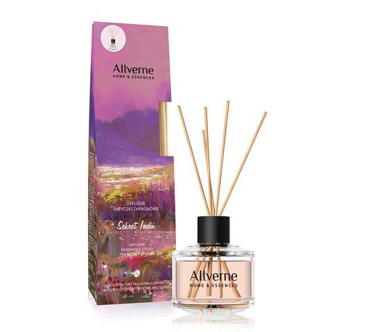 Allvernum Home & Essences dyfuzor z patyczkami zapachowymi Sekret Indii 50 ml