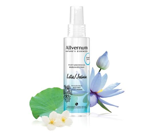 Allvernum Nature's Essences mgiełka do ciała perfumowana lotos i jaśmin 125 ml
