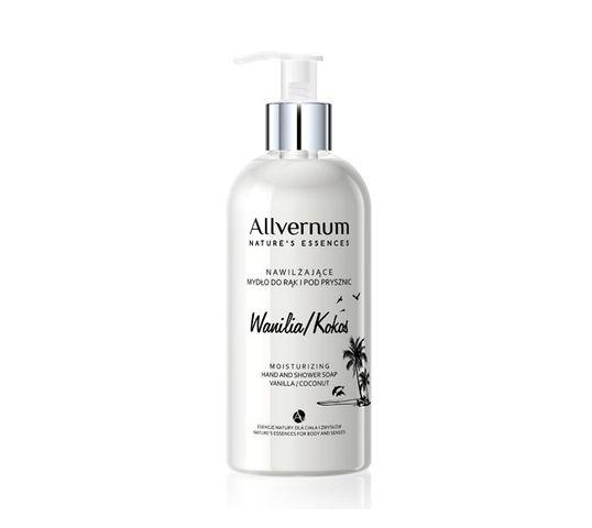 Allvernum Nature's Essences mydło do rąk i pod prysznic do każdego typu skóry wanilia-kokos 300 ml