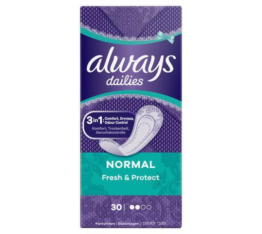Always Dailies Normal Fresh & Protect Fresh Wkładki higieniczne (1op.- 30 szt.)