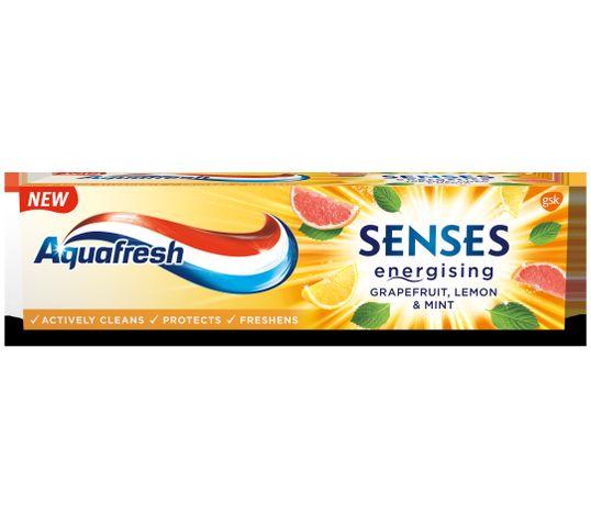 Aquafresh Pasta do zębów Senses Energising Grejfrut Cytryna & Mięta (75 ml)