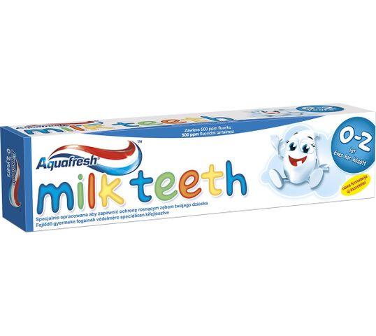 Aquafresh Pasta Milk Teeth dla dzieci 0-2 lat 50 ml