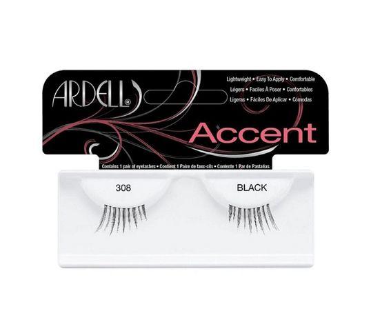 Ardell Rzęsy i akcesoria Accent 308 1 para sztucznych rzęs Black