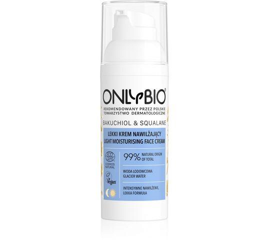 OnlyBio – Bakuchiol & Squalane lekki krem nawilżający do twarzy (50 ml)