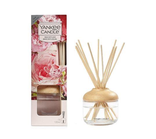 Yankee Candle Reed Diffuser pałeczki zapachowe z dyfuzorem Fresh Cut Roses 120ml