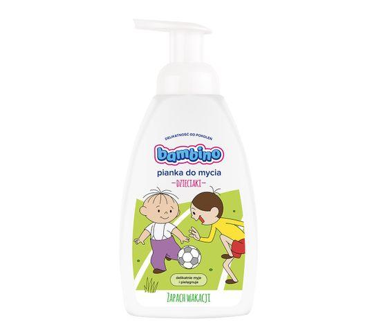 Bambino pianka myjąca dla dzieci Zapach Wakacji dla chłopców 500 ml