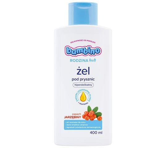 Bambino Rodzina Żel pod prysznic hiperdelikatny - zapach Jarzębiny 400 ml