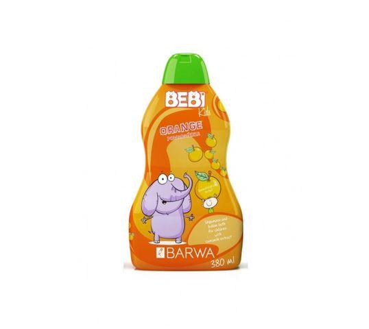 Barwa Bebi Kids Shampoo & Bubble Bath szampon i płyn do kąpieli dla dzieci 2w1 Orange 380ml