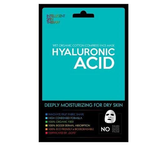 Beauty Face Hyaluronic Acid silnie nawilżająca maska w płacie do skóry suchej