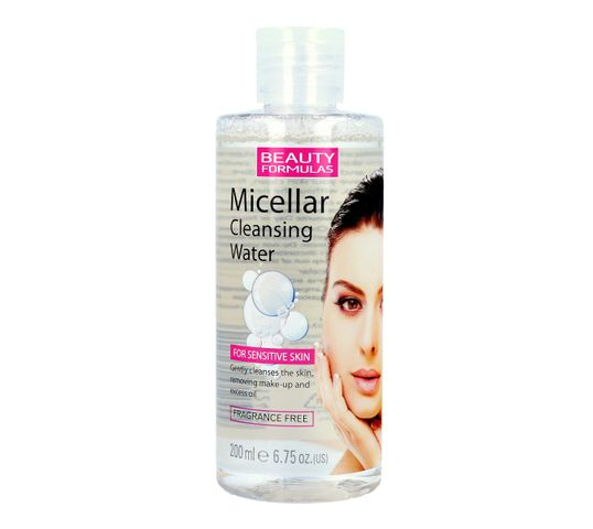 Beauty Formulas Micellar Cleansing Płyn micelarny do demakijażu twarzy 200 ml