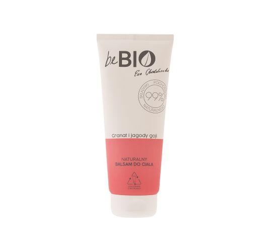 BeBio naturalny balsam do ciała Granat i Jagody Goji (200 ml)