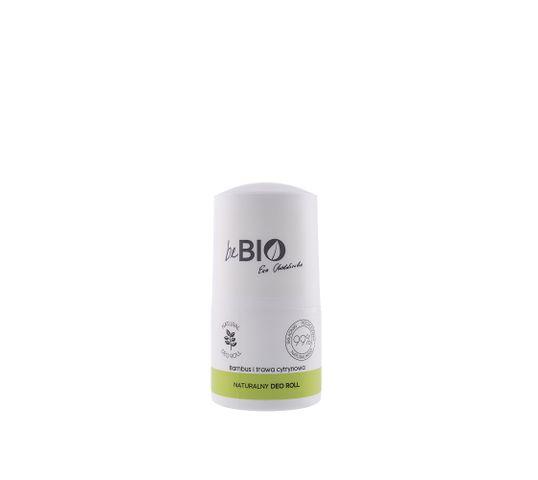 BeBio dezodorant w kulce Bambus i Trawa Cytrynowa (50 ml)