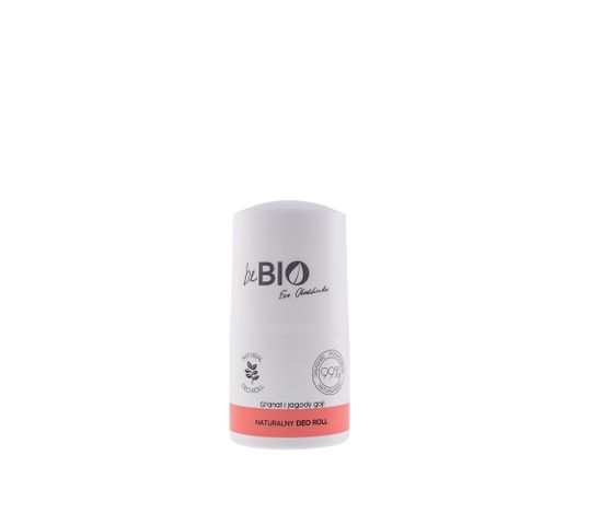 BeBio dezodorant w kulce Granat i Jagody Goji (50 ml)