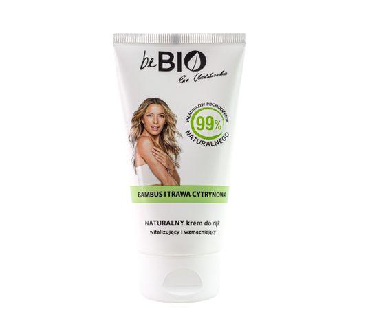 BeBio krem do rąk Bambus i Trawa Cytrynowa (75 ml)