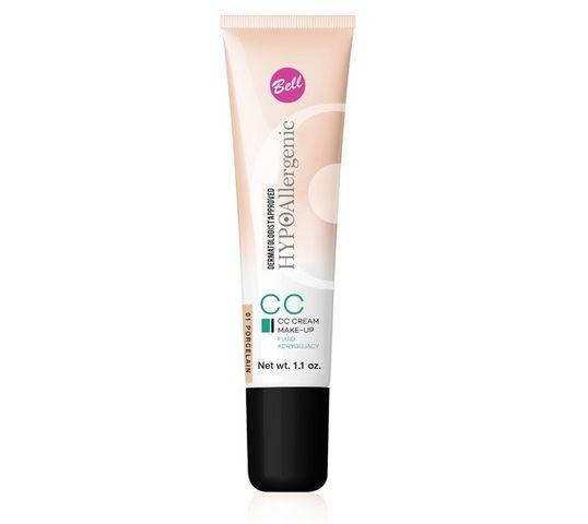 Bell Hypoallergenic Fluid do twarzy CC Cream korygujący nr 03 Sunny Beige 30 g