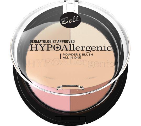 Bell Hypoallergenic Puder do twarzy z różem prasowany nr 02 11 g