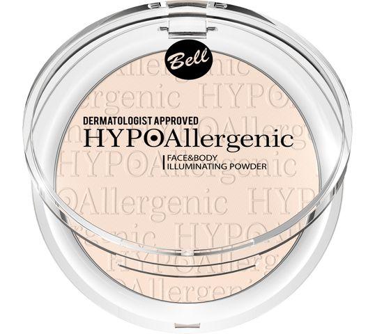 Bell Hypoallergenic Puder rozświetlający do twarzy i ciała nr 01 6 g