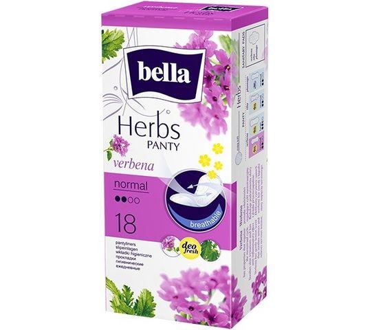 Bella Herbs Panty Wkładki higieniczne Verbena - z Kwiatem Werbeny - normal (1op. - 18 szt.)
