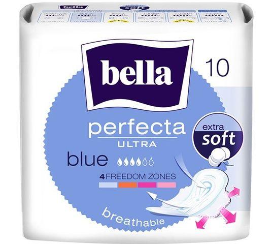 Bella Perfecta Blue Podpaski ultra cienkie extra soft  (1op. - 10 szt.)