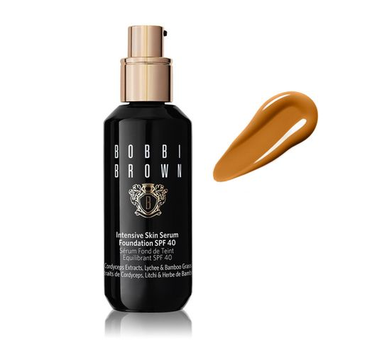 Bobbi Brown – nawilżający podkład do twarzy z pompką W-066 Warm Honey Intensive Skin Serum Foundation SPF40 (30 ml)