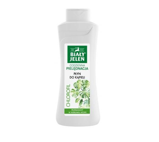 Biały Jeleń płyn do kąpieli i pod prysznic z chlorofilem (750 ml)
