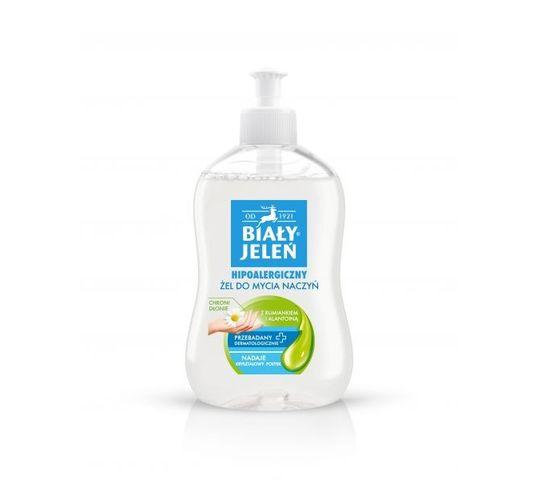 Biały Jeleń żel do mycia naczyń z rumiankiem i alantoiną 500 ml